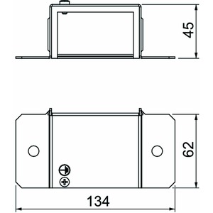 BSKM-VK 0407, Endstück 40x70, St, FS