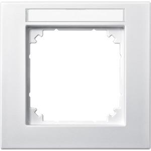 M-PLAN-Rahmen, 1fach beschriftbar, polarweiß