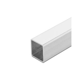 ROHR 80X5X 500 PULV.7035, Stahlrohr geschlossen, System CS-2000, Abmasse: 80 x 5 x 500 mm