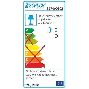 nD867F12L60/3/4 H, Ex-geschützte LED-Notleuchte ExeLed 2 N für Zone 2/22 für hohe Umgeb.temp., sep. Batteriekasten, Brenndauer 3Std., 6.060/750lm, 48W, IP66, SK I