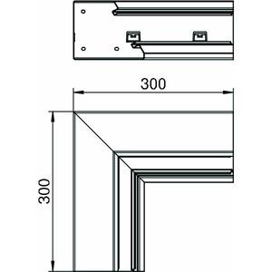 GEK-SAIS133110RW, Inneneck standard asymmetrisch 133x110mm, St, reinweiß, RAL 9010