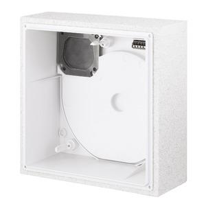 ELS-GUBR, ELS-GUBR, UP-Gehäuse mit Brandschutz- absperrklappe, -ummantelung K90, Ausblas rückseitig