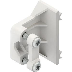 KEZ10, Zugentlastung, seitlich ansteckbar, Ø <= 10 mm, für zwei- und dreifach Steckdoseneinheiten KES...