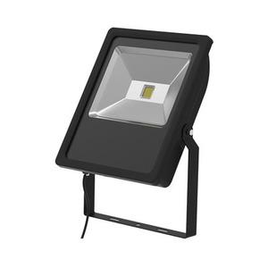 LED Floodlight Black 70W 3000K