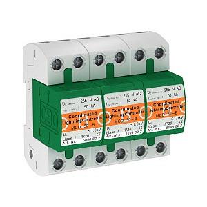 MCD 50-B 3, CoordinatedLightningController Set für TN-C Netze 255V