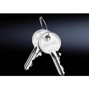 SZ 2532.000, Schaltschrank-Schlüssel, für Verschluss-Einsatz Sicherheitsschließung Nr. 3524E, Preis per VPE, VPE = 2 Stück