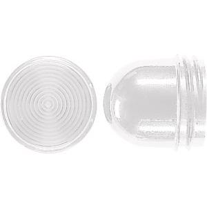 Schraubhaube, hoch, bruchsicher, für Leuchtmittel mit maximal 54 mm Gesamtlänge