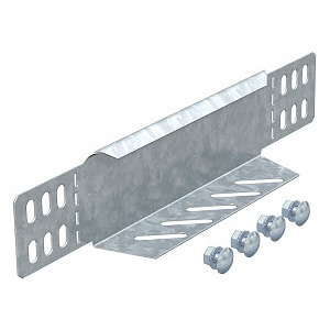 RWEB 1010 FS, Reduzierwinkel/ Endabschluss für begehbare Kabelrinne 100mm 100x100, St, FS