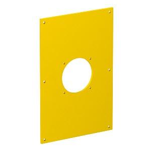 VHF-P7, Abdeckplatte für 1x Steckdose 38x38 160x105x3mm, PVC, rapsgelb, RAL 1021
