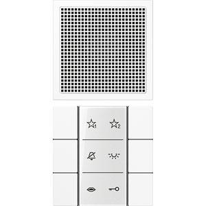 SI AI LS 6 WW, Audio-Innenstation, Beschriftungsfeld, Beschriftungsfolien, Anschlusskabel