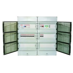 Typ: DV01-02FF400, Steuer-Verteilung f. Freiflächenhzg.  für 1-2 Heizkreise