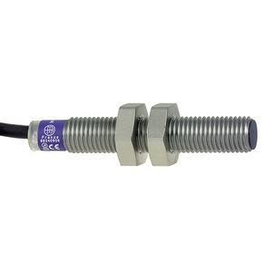 XS1-Indu. Näher.sch. M8, L50 mm, Edels., Sn 1 mm, 24-240V AC/DC, 5 m Kab.