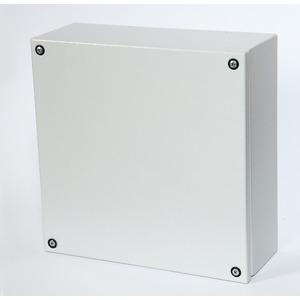 Klemmkasten GL66, IP66,  Maße: 150H 150B 120T, Stahl, RAL7035