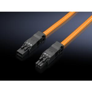 SZ 2500.530, Anschlussleitung für Durchgangsverdrahtung, 3-polig, 100-240 V, L: 1000 mm, UL