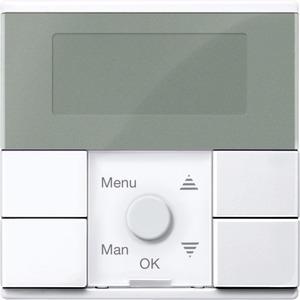 Zeitschaltuhr-Modul Standard, aktivweiß glänzend, System M