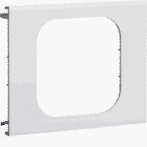 Blende 1-fach R7 PVC BR OT 120 anthrazit