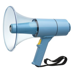 Waterproof Handmegafon, max. 25 W, hellblau