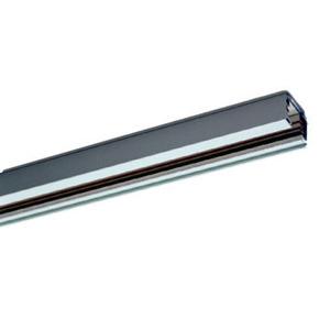 HLTS403SI, 3-PH-Stromschiene silber 4000mm für Aufbau