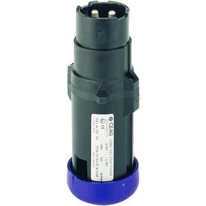 GHG 542 2212 V0000, Ex-Stecker für Zone 1, max. 16 A, 2-pol., GHG 54 42 V, 12 h, 1 Leitungseinführung