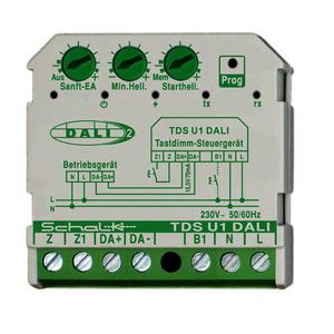 TDS U1 DALI (230V AC), Tastdimm-Steuergerät DALI (230V AC, UP)