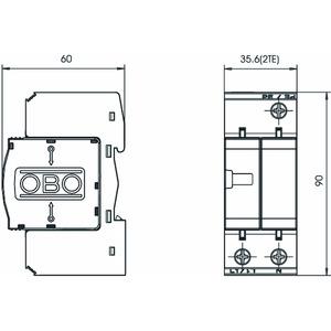 V20-C 1+NPE-280, SurgeController V20 1+1 Ausführung 280V