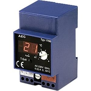 ATE 30 T, Außentemperaturregler mit Anzeige, für kleine Freiflächen, Rohr-Dachrinne