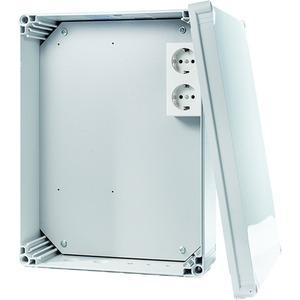 Solar-Log - Installationsgehäuse für den Außenbereich inkl. Stromanschluss und Montageplatte Größe: 300x400x132mm; IP65