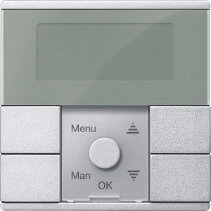 MEG5754-0460, Zeitschaltuhr-Modul Standard, aluminium, System M