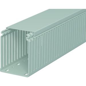 LKV 10075, Verdrahtungskanal 100x75x2000, PVC, steingrau, RAL 7030
