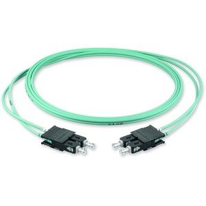 Zipcord; Diam 2,9 mm; Fibre count 2F; Cable jacket: FRNC - ClearCurve OM3 Pr; Connectors: -SC Duplex MM/ -SC Duplex MM; Length 3.0 M