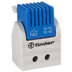 7T.91.0.000.1300, Thermostat für Schaltschrank, 1 Schließer 5 A, Festwerte: AN bei 35° C, AUS bei 25° C