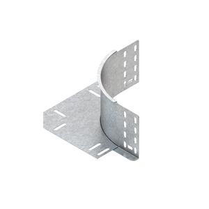 REK 110 E3, Eckanbaustück für KR, Höhe 110 mm, mit ungelochtem Seitenholm, Edelstahl, Werkstoff-Nr.: 1.4301, 1.4303, inkl. Zubehör