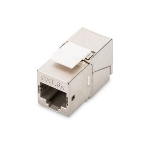 DIGITUS CAT 6A Keystone Modul, geschirmt 500 MHz gem.ISO/IEC 60603-7-51,11801 AMD2:2010-04 werkzeugfreie Montage