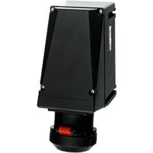 GHG 512 4506 R0001, Ex-Wandsteckdose für Zone 1/21, 32 A, 5-pol., GHG 512346-415 V, 6 h, 1 x M40 Leitungseinführung, 1 x M40 Schraubverschluss