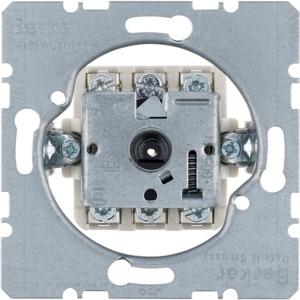 Jalousie-Drehschalter Modul-Einsätze 2-polig
