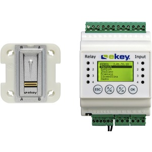 ekey home Set UP I REG 1, ekey home Set mit Fingerscanner Unterputz I und Steuereinheit REG 1 Relais