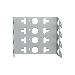 MB 4, Montagebügel für LSA-Verbindungselemente, 10 DA, Rastermaß 22,5 mm, für 4 Module