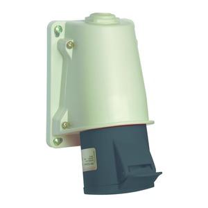 CEE Wandsteckdose Schneidklemmen, 32A, 3p+E, 480-500 V AC