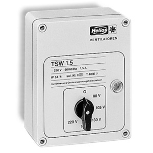 TSW 1,5, Trafo-Drehzahlsteller einphasig, 230 V/1,5 A, TSW 1,5