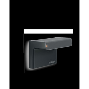iHF 3D KNX schwarz, Bewegungsmelder iHF (Intelligente Hochfrequenz-Technik), Aufputz, IP54, 160° Reichweite max: r = 7 m (68 m²)