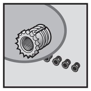 M5-Messingeinsätze für QLine I