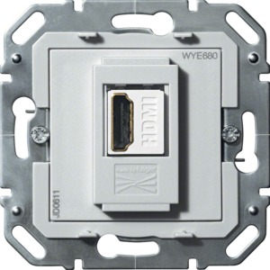 HDMI Durchgangsdose 1-f., 1080p, F-HD