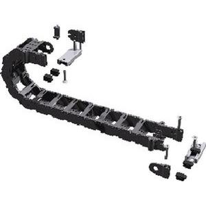 Montageset PL4-68-7F, Energieführungskette - Montageset für den Kleinbedarf PL4-68-7F 25 x 68 mm (H x B)