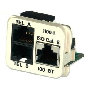 INSERT 10/100BT & 2x TEL /A