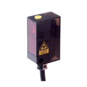 sensor laser,taster 12x27x16,3/rotlicht,HGA 11-30V DC,100mA,Sn:130/2m Kabel