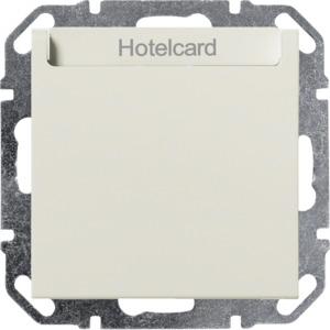 Hotelcard-Schalter, Elektronik, creme