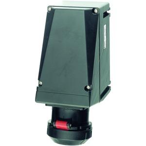 GHG 512 4407 R0001, Ex-Wandsteckdose für Zone 1/21, 32 A, 4-pol., GHG 512480-500 V, 7 h, 1 x M40 Leitungseinführung, 1 x M40 Schraubverschluss