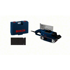 GBS 75 AE, Bandschleifer GBS 75 AE, mit Koffer, Gewebeschleifband, Staubsack, Grafitplatte