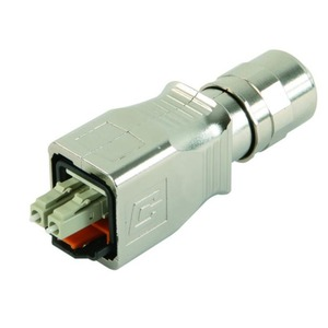 STX V14 LWL-Steckerset, LC Duplex, Singlemode, ohne Knickschutzspirale