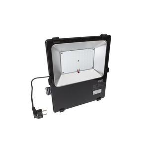 AO000519, LED Flutlichtstrahler, 62x298x256mm, kaltweiß, 50W 120°, 6000K, Klemme, IP65, Aluminium+Sicherheit...